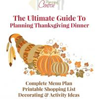 The Ultimate Guide to Planning Thanksgiving Dinner: $9.95