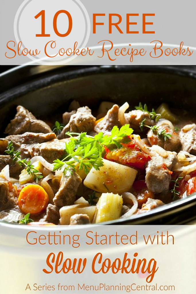 10 free slow cooker recipe books