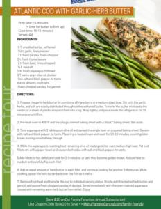 Atlantic Cod and Asparagus