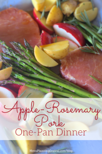 Apple-Rosemary Pork One-Pan Dinner
