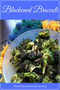 Blackened Broccoli