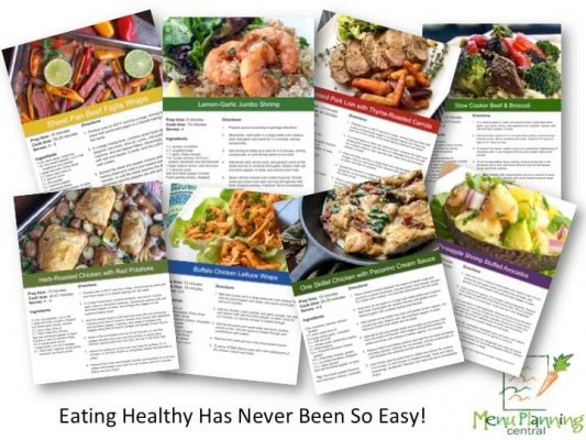 Clean Eating Menu Plans
