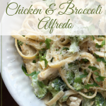 Creamy Chicken & Broccoli Alfredo