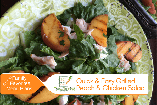 Quick & Easy Grilled Peach Salad