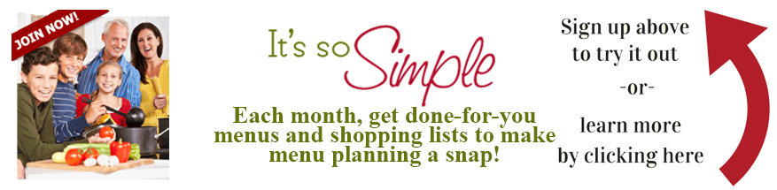 Sign up for our meal planning or learn more here!