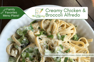 Creamy Chicken Broccoli Alfredo