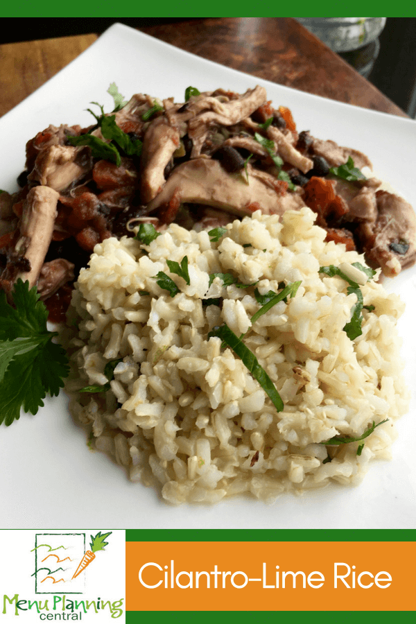 Mexican Lime Rice