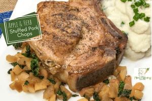 Apple & Herb Stuffed Pork Chops