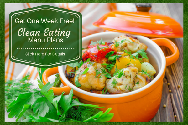 Clean Eating Menu Plan: Claim Your Free Week!