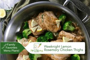Weeknight Lemon Rosemary Chicken