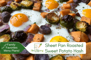 Sheet Pan Roasted Sweet Potato Hash