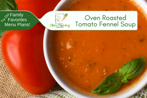 Oven Roasted Tomato & Fennel Soup