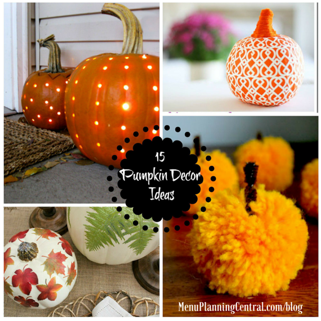 Pumpkin decor graphic