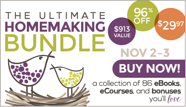 homemaking bundle