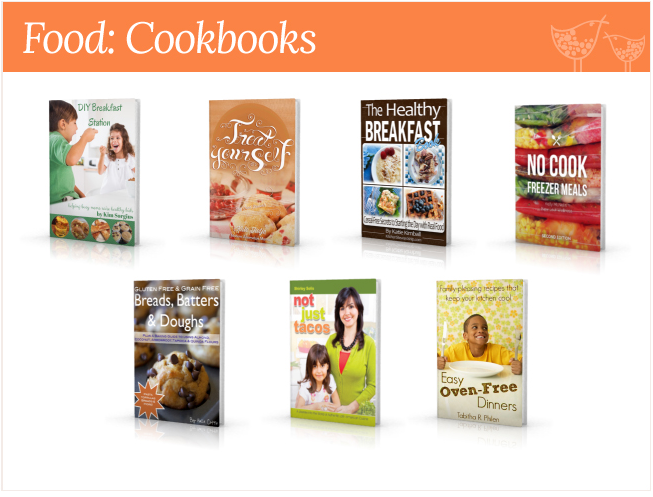 food cookings homemaking bundle