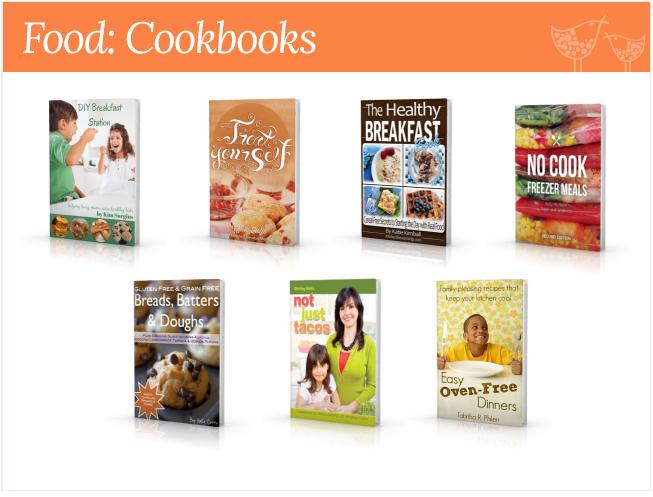 food cookings homemaking bundle