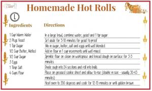 Homemade Hot Rolls