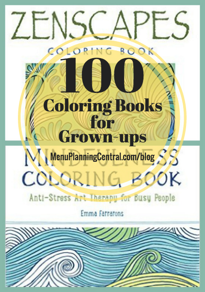 100 coloring books for grown-ups