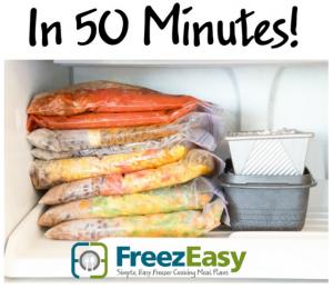 Freezeasy Freezer meal plans