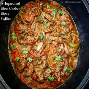 Gluten Free Slow Cooker Steak Fajitas