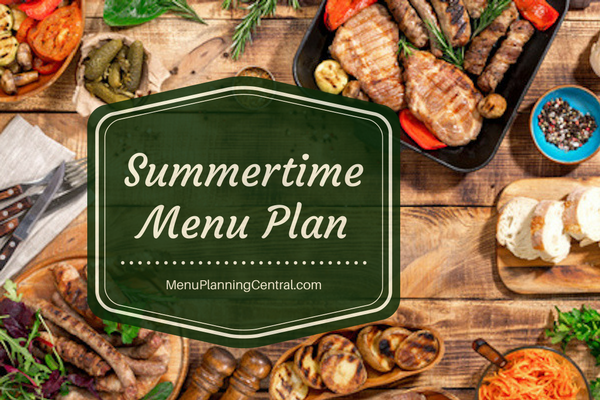 Summertime Family Favorites Plan