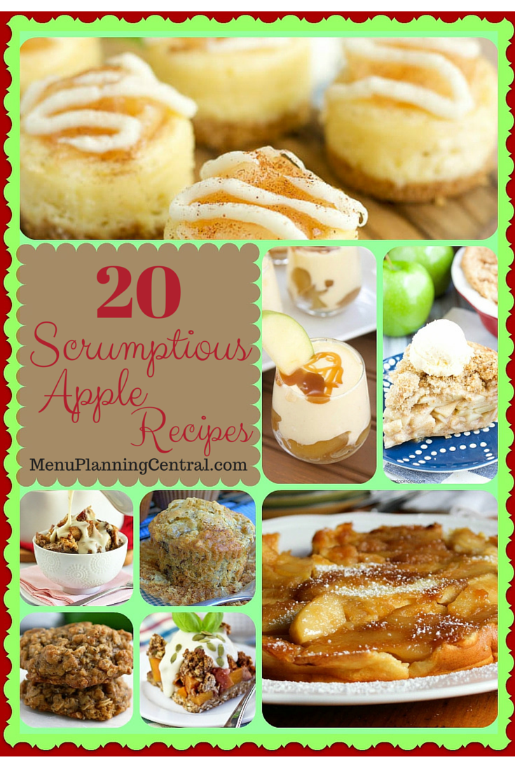 20 scrumptious apple recipes
