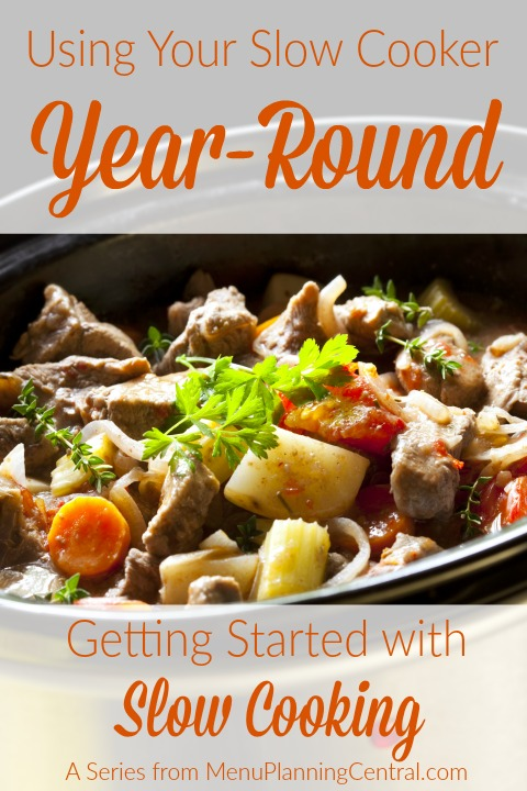 Using your slow cooker year-round