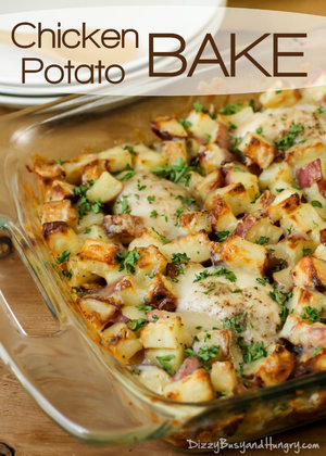GF Chicken Potato Bake