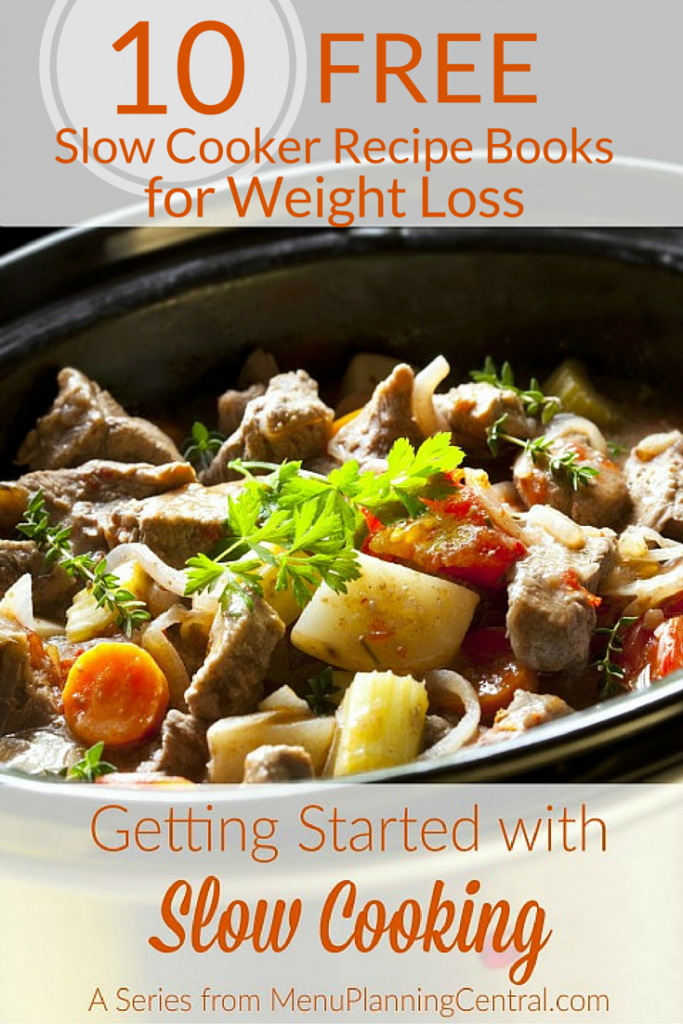 10 Free Slow Cooker Recipe Books for Weight Loss