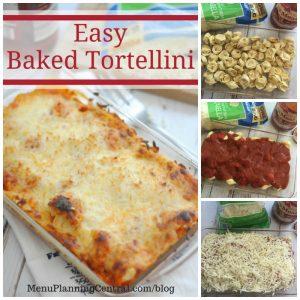 Easy Baked Tortellini