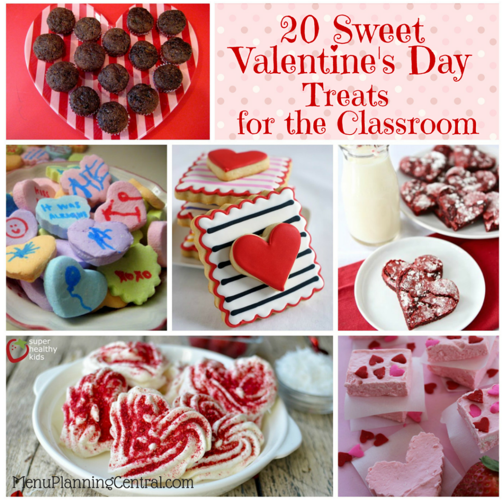 20 Sweet Valentine's Day Treats for the Classroom
